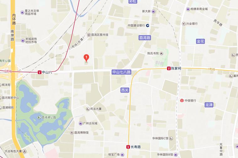 Chợ Liwan trên bản đồ