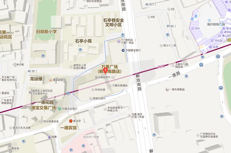 Chợ Wanling trên bản đồ